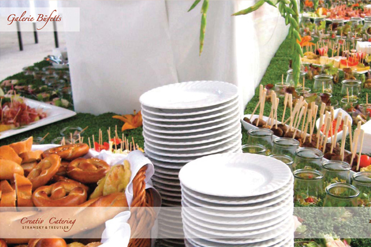 Internationale Catering-Buffets